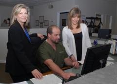 Vicki, DR. Wagner, Debbie