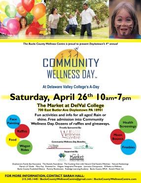 Community Wellness Day general flyer 2014